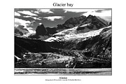 Signed Photo Posters - Glacier Bay Poster by William Jones