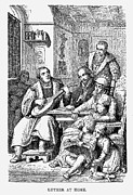 Lutenist Prints - Martin Luther (1483-1546) Print by Granger