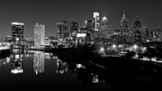 Philadelphia Skyline Art - 23 th Street Bridge Philadelphia by Louis Dallara