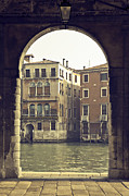 Arcade Framed Prints - Venezia Framed Print by Joana Kruse