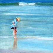 Bethany Beach Posters - RCNpaintings.com Poster by Chris N Rohrbach