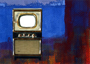T.v. Mixed Media - 24 Hour Freak-show by David Dionisio