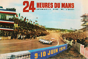 1975 Prints - 24 Hours of Le Mans - 1975 Print by Nomad Art And  Design