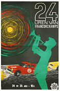 Automotiv Framed Prints - 24 Hours of Spa-Francorchamps Framed Print by Nomad Art And  Design