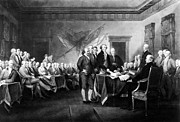 Stockton Prints - Declaration Of Independence Print by Granger