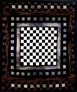 Fabric Quilt Tapestries - Textiles Posters - 25 Poster by Mildred Thibodeaux