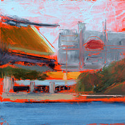 Heinz Field Posters - RCNpaintings.com Poster by Chris N Rohrbach