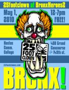 Bronx Digital Art - 25footclown Bronx Heroes 2 poster by Christopher Capozzi