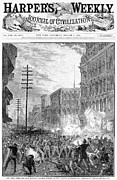6th Street Photo Posters - Great Railroad Strike, 1877 Poster by Granger