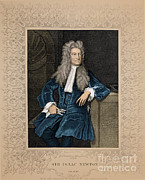 Origin Posters - Isaac Newton, English Polymath Poster by Science Source