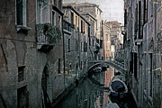 Narrow Boats Framed Prints - Venezia Framed Print by Joana Kruse