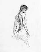 Figure Drawings - RCNpaintings.com by Chris N Rohrbach