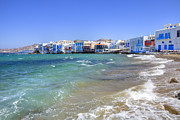 Sea Island Framed Prints - Mykonos Framed Print by Joana Kruse