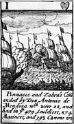 Mendoza Photos - Spanish Armada, 1588 by Granger