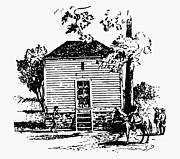 One Room School House Prints - Thomas Jefferson (1743-1826) Print by Granger
