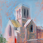 Steeple Prints - RCNpaintings.com Print by Chris N Rohrbach