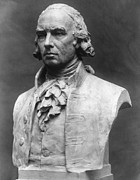 Statue Portrait Metal Prints - James Madison (1751-1836) Metal Print by Granger