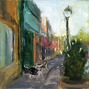 Plein Air Painting Metal Prints - RCNpaintings.com Metal Print by Chris N Rohrbach