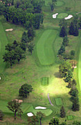 Sunnybrook Golf Club Aerials By Duncan Pearson Originals - 2nd Hole Sunnybrook Golf Club 398 Stenton Avenue Plymouth Meeting PA 19462 1243 by Duncan Pearson
