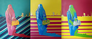 Hijab Paintings - 3 - American Dreams by Paul Rolfes