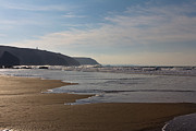 Surfing Photos Metal Prints -  Porthtowan Cornwall Metal Print by Brian Roscorla