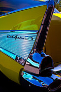 Custom Grill Prints - 1957 Chevy Bel Air Print by David Patterson
