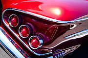 Red Impala Prints - 1958 Chevy Impala Print by David Patterson
