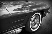 Race Digital Art Originals - 1962 Chevrolet Corvette by Gordon Dean II