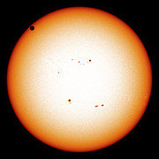 Venus Transit Posters - 2012 Transit Of Venus Moving Poster by Stocktrek Images