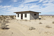 Scrub Brush Prints - Abandoned Desert Home Print by Paul Edmondson