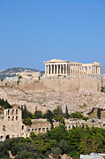Vacation Photos - Acropolis of Athens by George Atsametakis