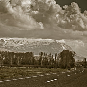 Fall Road Photos - Aladaglar Mountains by Gabriela Insuratelu