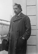 Ancestry Photos - Albert Einstein 1879-1955 by Everett
