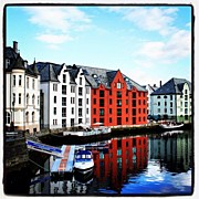Instaprints Art - Alesund by Luisa Azzolini