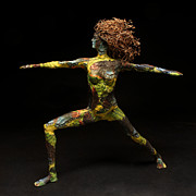 Natural Mixed Media Originals - Alight a sculpture by Adam Long by Adam Long
