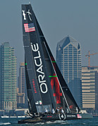 World Series Photo Posters - Americas Cup World Series Poster by Steven Lapkin