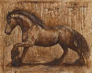 Chevaux Prints - Ancient glory Print by Paula Collewijn -  The Art of Horses