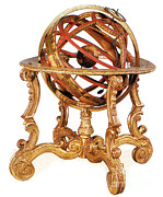 Armillary Framed Prints - Armillary Sphere Framed Print by Science Source
