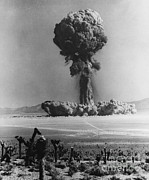 Atomic Bomb Photos - Atomic Bomb Explosion by Omikron