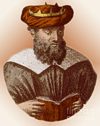 Persian Illustration Prints - Avicenna, Persian Polymath Print by Science Source