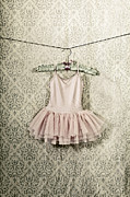 Pink Dress Framed Prints - Ballet Dress Framed Print by Joana Kruse