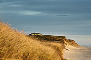 Weathered Houses Prints - Beach Cottage Print by John Greim
