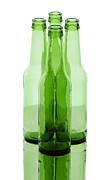 Bar Photos - Beer Bottles by Blink Images