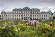 Belvedere Palace Print by Andre Goncalves