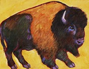 American Bison Prints - Big Buffalo  Print by Carol Suzanne Niebuhr