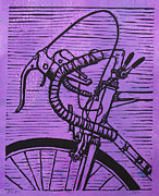Blockprint Originals - Bike 2 by William Cauthern