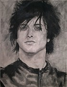 Green Day Drawings Originals - Billie Joe Armstrong  by Brittany Frye