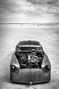 Vintage Motorcycle Prints - Bonneville Salt Flats Speed Week 2012 Print by Holly Martin