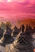 Borobudor Temple Print by Gloria & Richard Maschmeyer - Printscapes