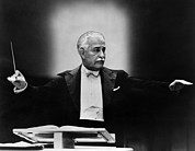 Music Stand Photos - Boston Pops Orchestra Conductor, Arthur by Everett